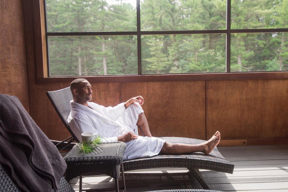 Relaxing at Sunda Spa & Resort