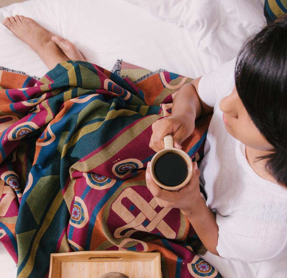 Sun Symbols Blanket from Mahota Textiles