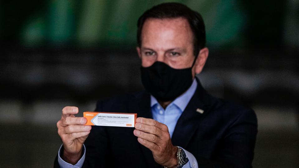Governor Gives Updates on Chinese Vaccine CoronaVac