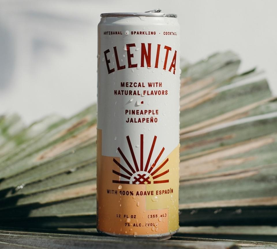 Elenita Mezcal Cocktail Pineapple Jalapeño
