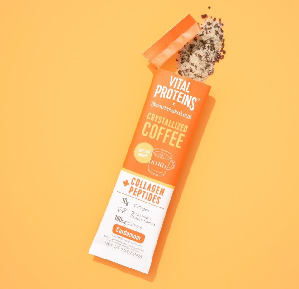 Vital Proteins x @shutthekaleup Crystallized Coffee + Collagen Peptides