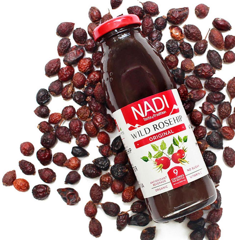 Nadi Wild Rosehip Original Juice Organic Georgia antixodiant vitamin c