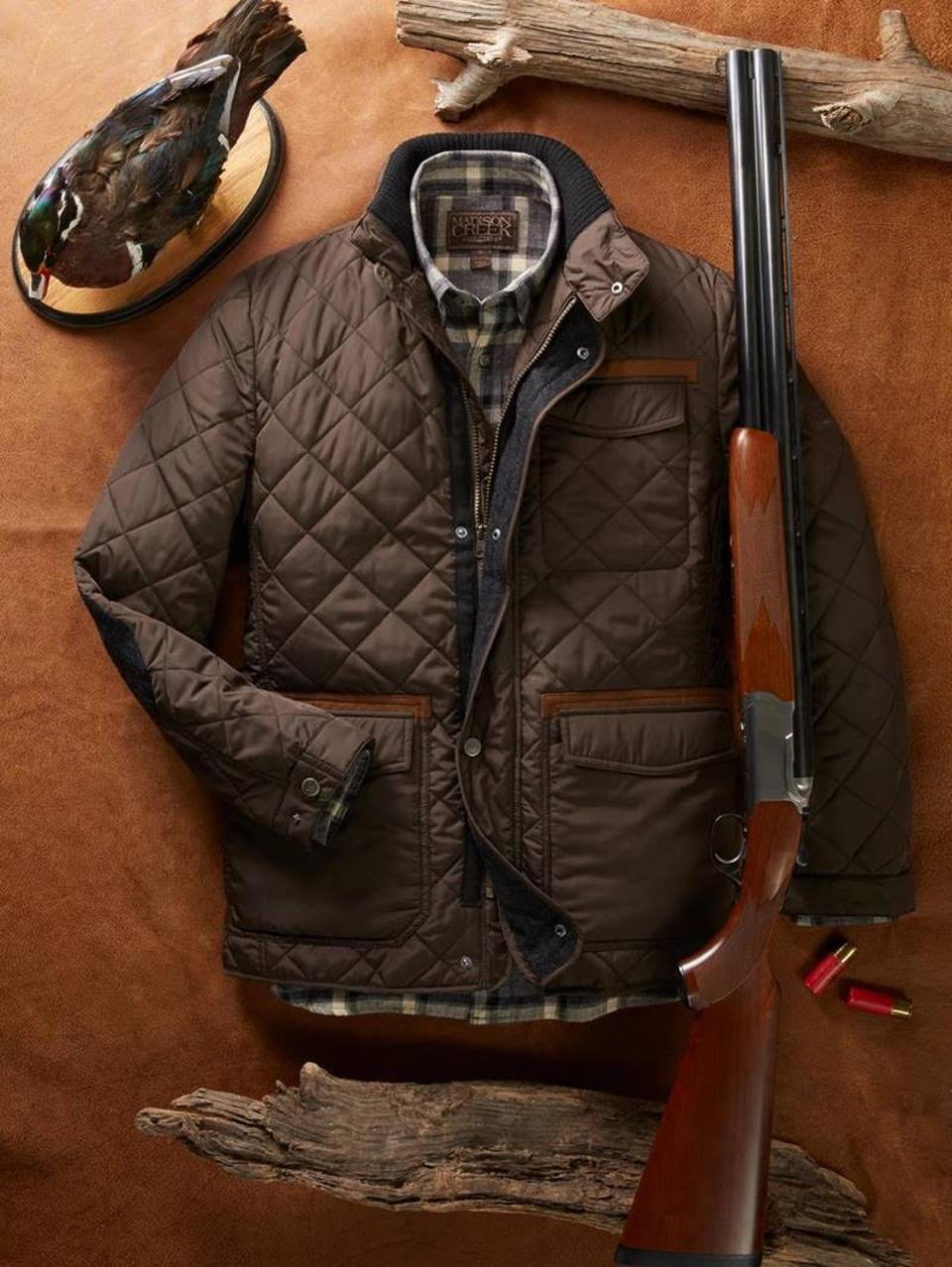 Maddison Creek Brown Jacket