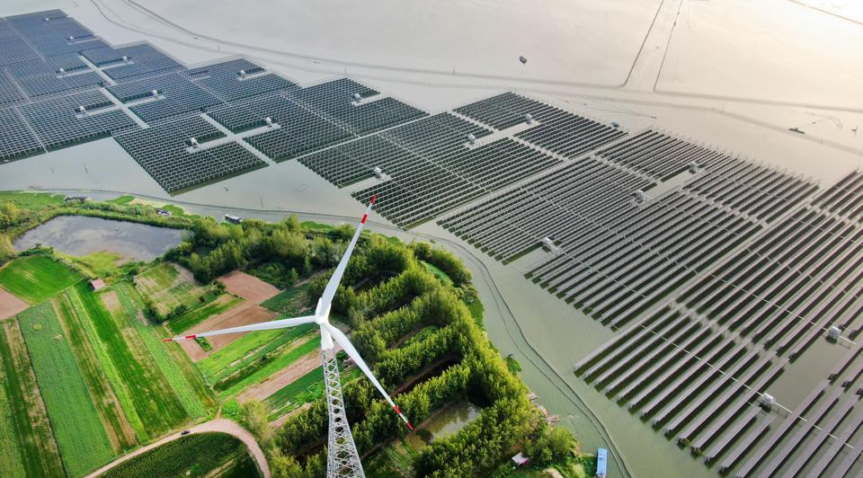 'Fishing Light Complementary' Photovoltaic Power Generation Project In Jiangsu