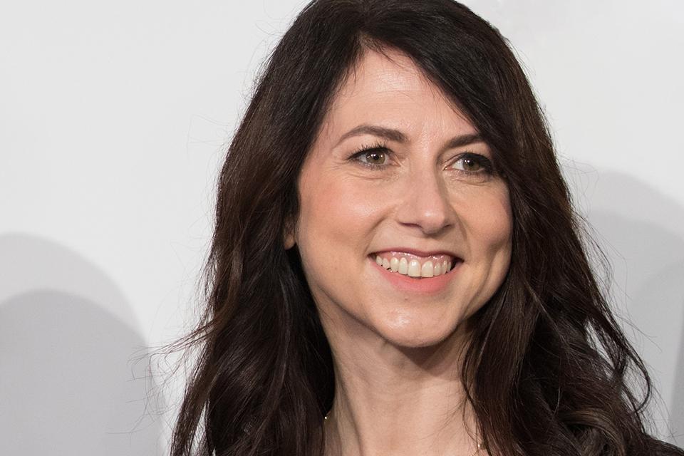 MacKenzie Scott, a philanthropist and the ex-wife of Jeff Bezos.