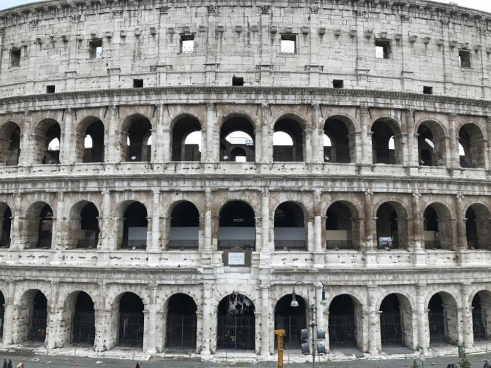 The Colosseum in Rome, one of the images in Travel by Design from Assouline Books.