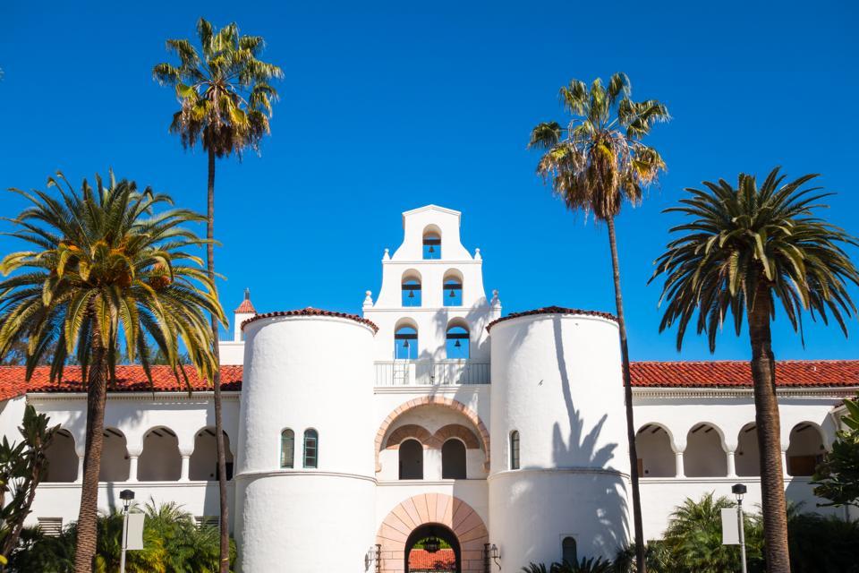 San Diego State University Facade