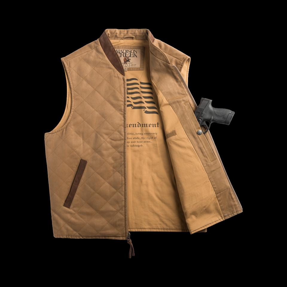 Conceal Carry Vest Jacket