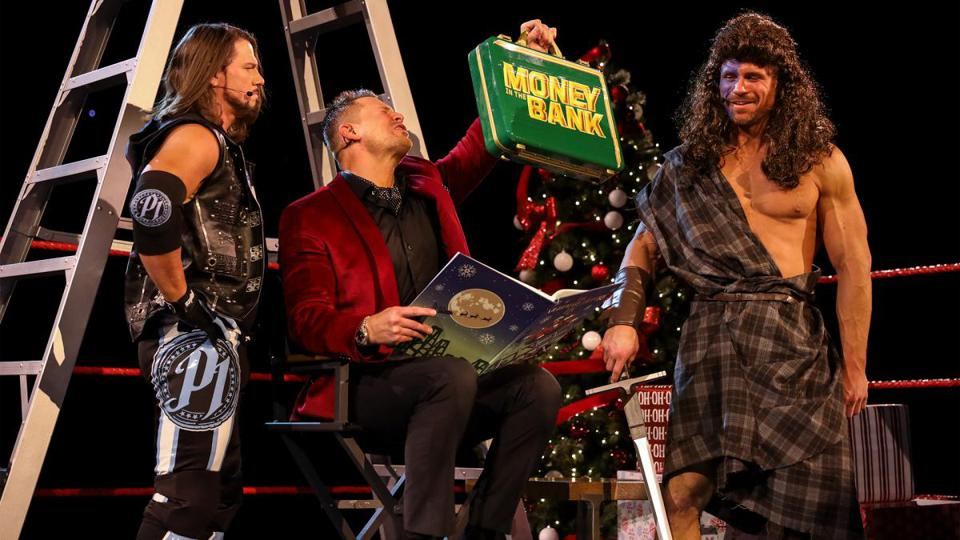 WWE Raw was filled with bad comedy.