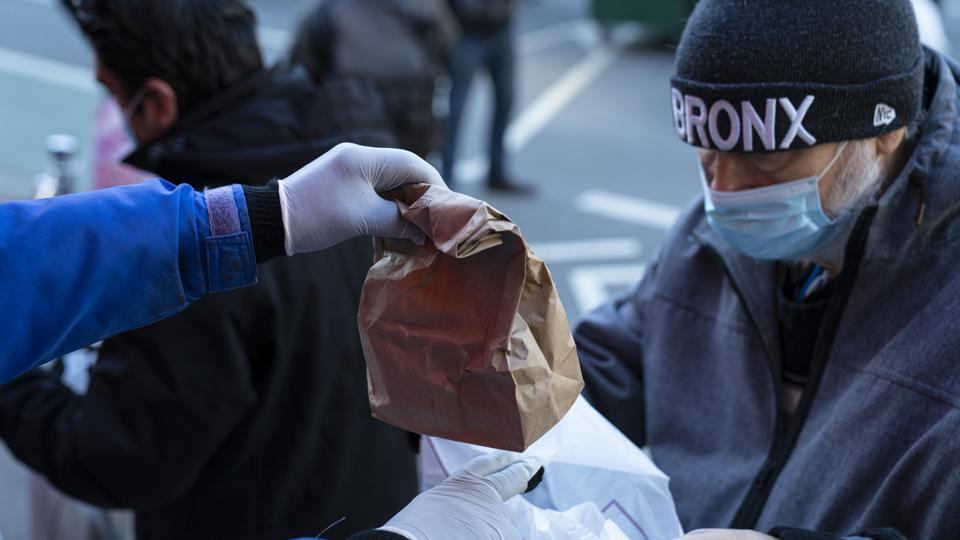 Holy Apostles Soup Kitchen Distributes Free Meals In New York City