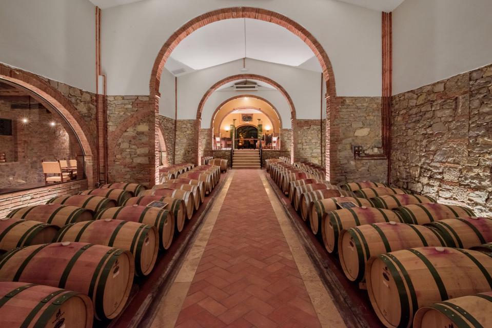 San Felice Cellars, Tuscany, Italy