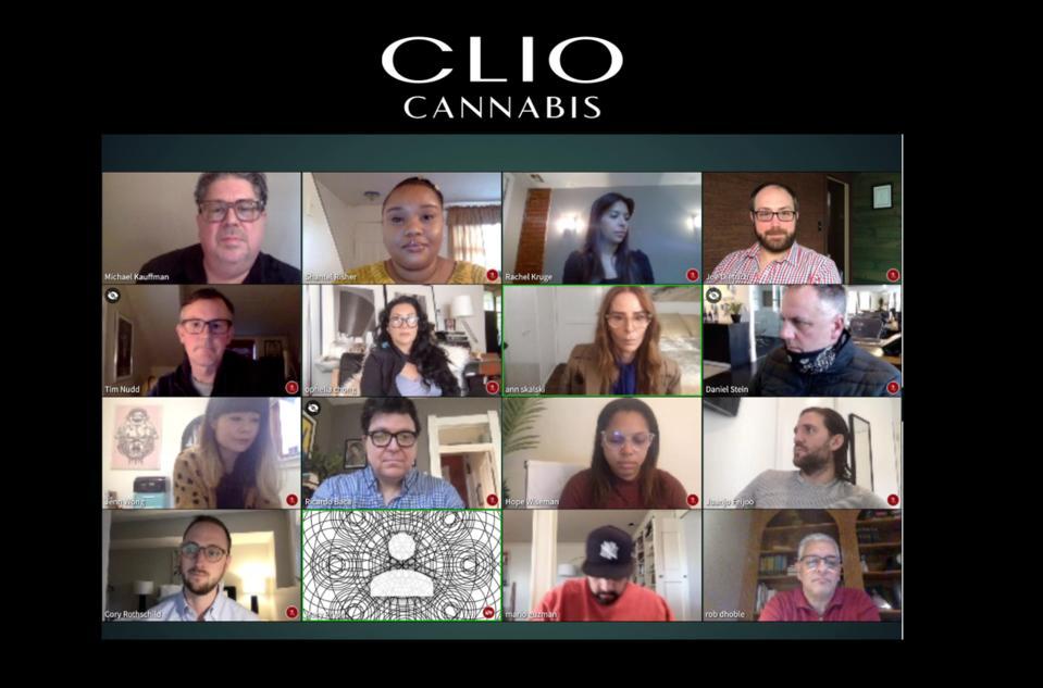 Clio Cannabis Awards, Michael Kauffman, Ricardo Baca, cannabis marketing, Clio, cannabis