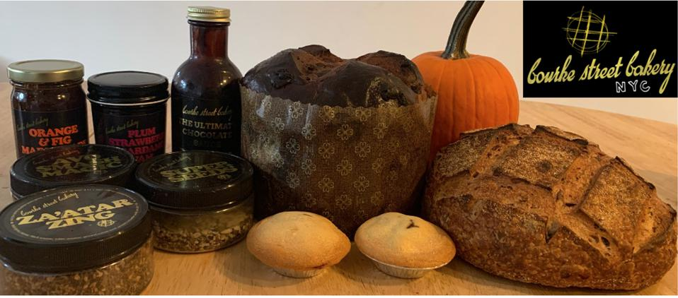 Homemade Breads, Pastries, Jams, Chocolate Sauce & Seasonings from Bourke Street Bakery, NYC