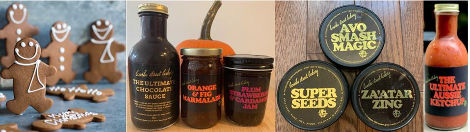 Gingerbread Men, Homemade Jams, Aussie Ketchup & Seasonings & Sprinkles from Bourke Street Bakery NYC