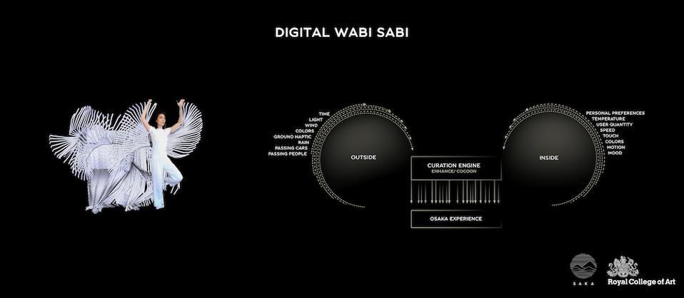 Naomi Saka interprets the concept of wabi-sabi for her future transport system