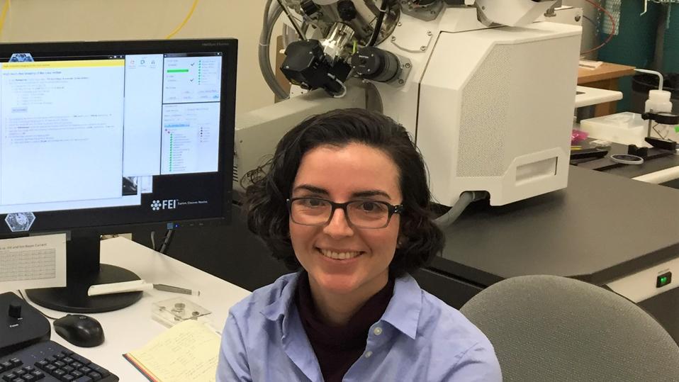 Colombian scientist Sandra L. Arias, a PhD Postdoctoral associate at Cornell University.