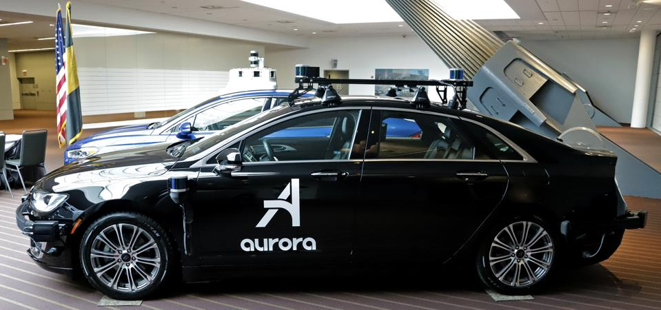 Aurora autonomous vehicles