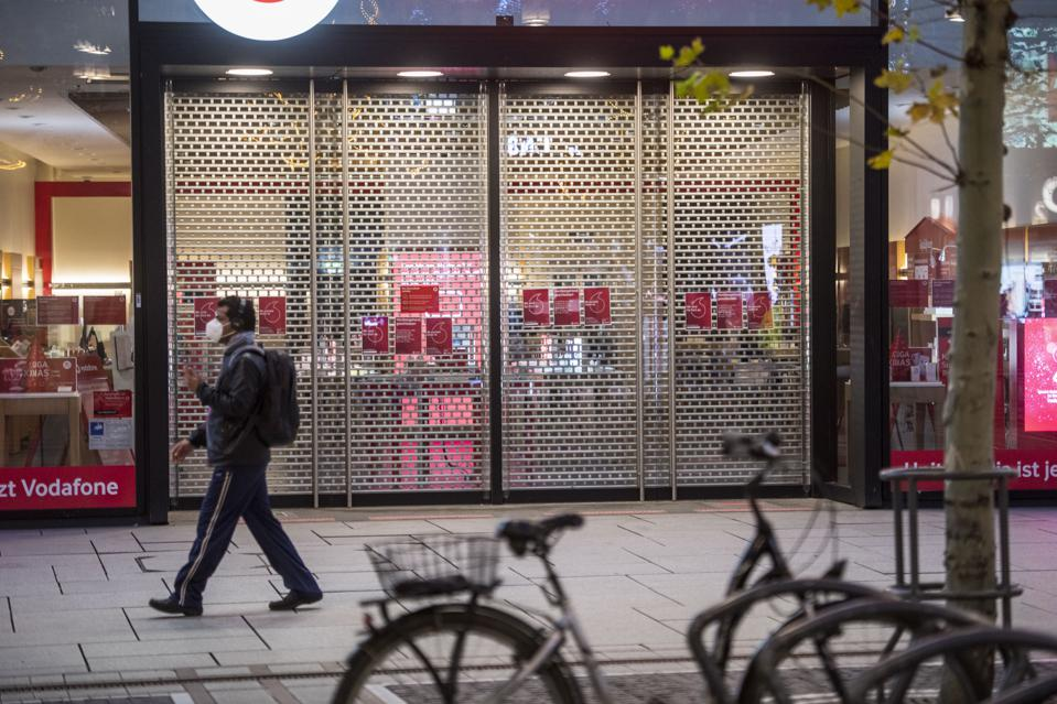 Germany Launches Hard Lockdown Before Christmas In Struggle Against Coronavirus Infections