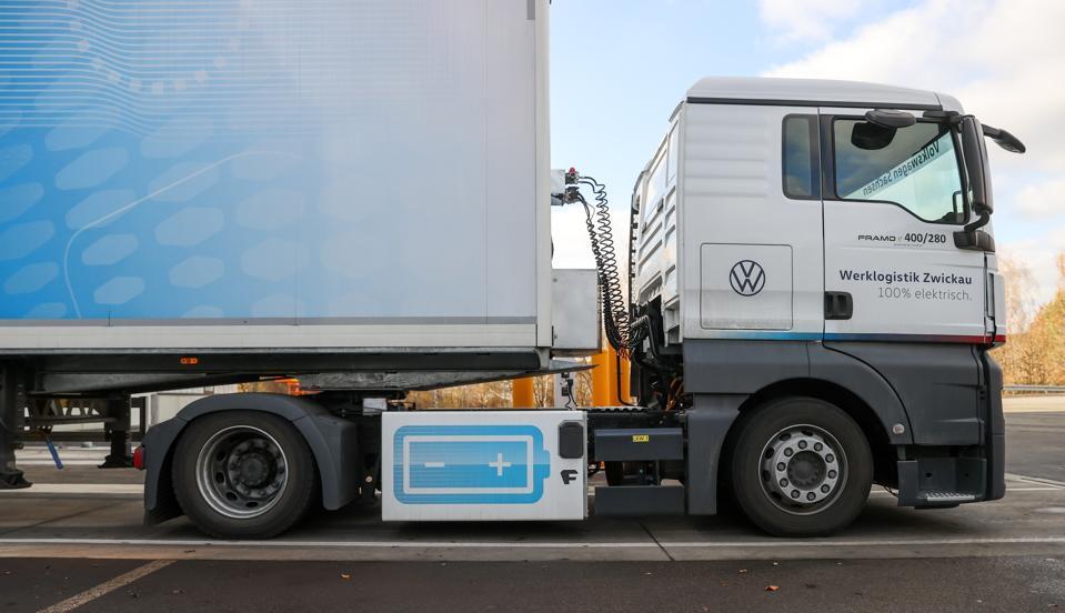 VW Zwickau with green battery logistics