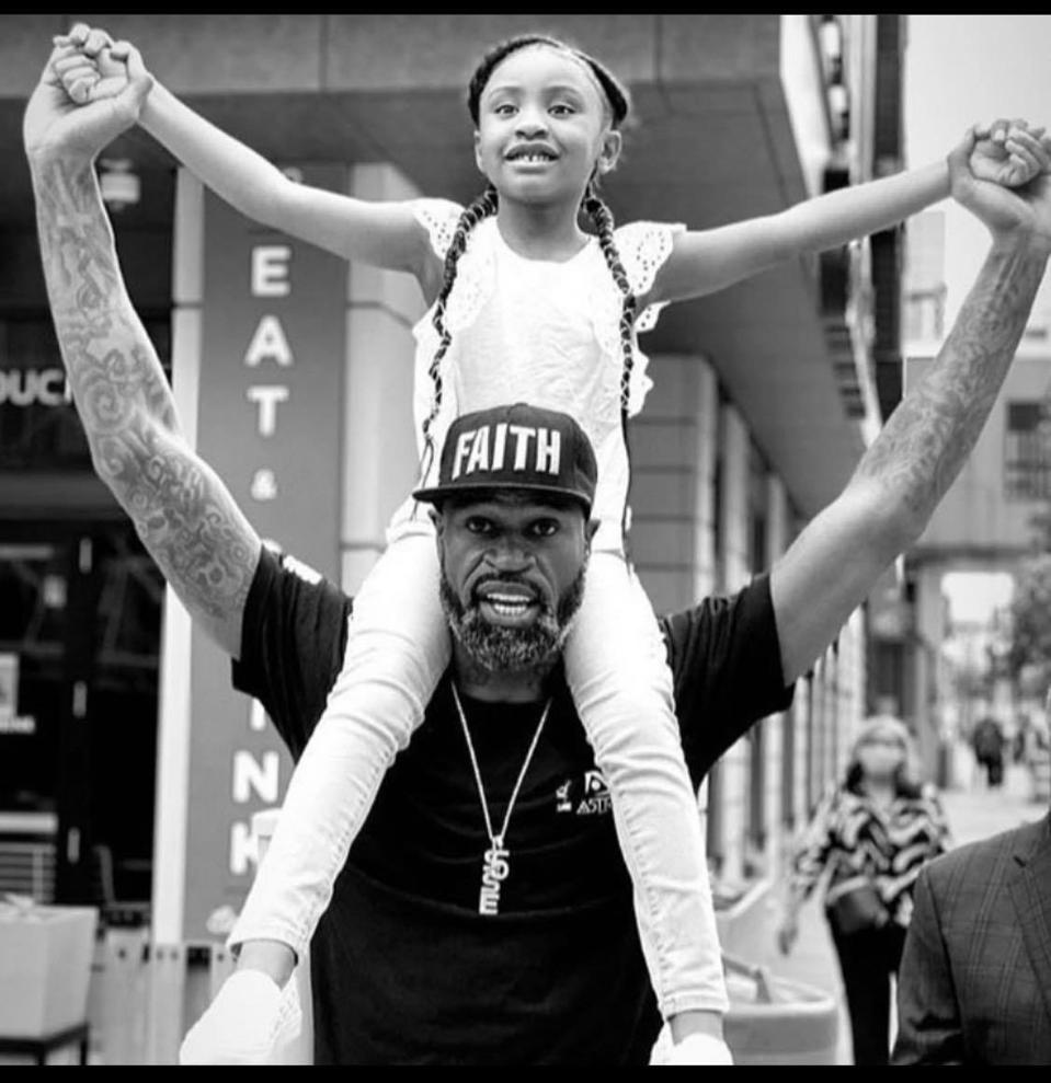 In the wake of George Floyd's death, former NBA player Stephen Jackson has become a father figure to Gianna Floyd.