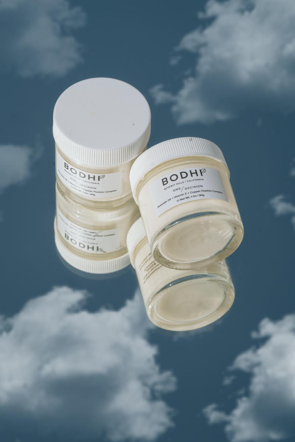BODHI: Beverly Hills  7:  One/Decision All In One Cream- Designed for all human kind, regardless of gender to cure dry, damaged and dehydrated skin.