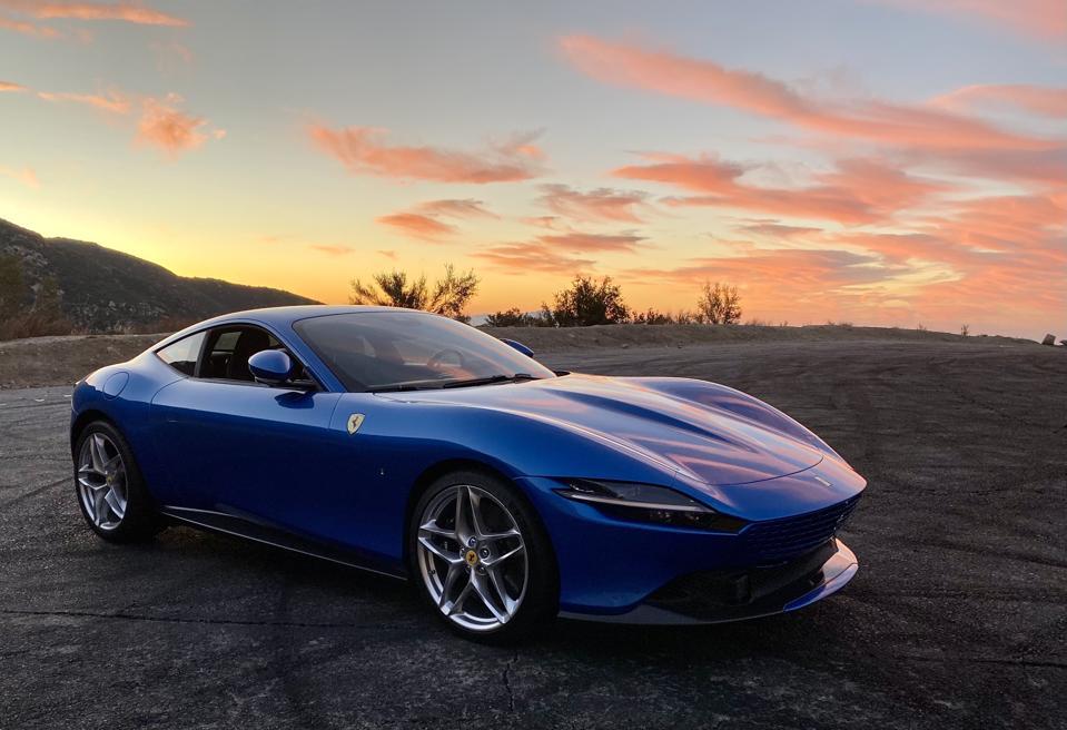 Mountain Drive Ferrari Roma Reinvents Gran Turismo Erotica For The 21st Century