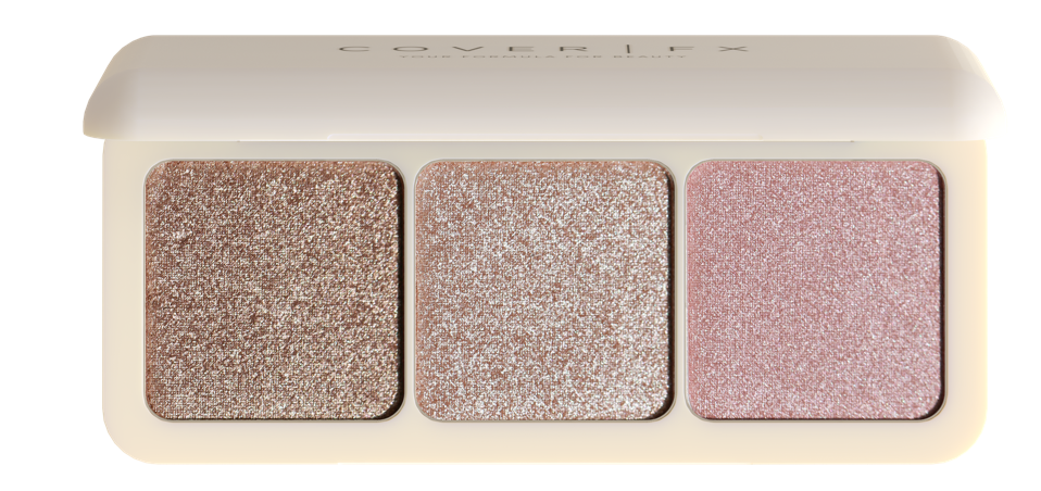 Cover FX's new Custom Enhancer Palette is the perfect gift to add some sparkle to your beauty routine this holiday season.