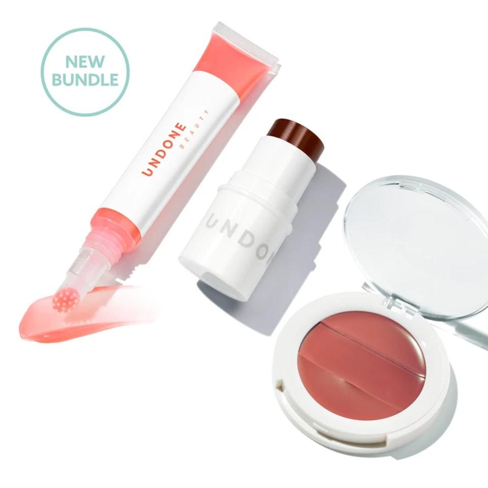 Undone Beauty's Work from Home bundle is a perfect pick me up to run some errands or jump on a Zoom call.