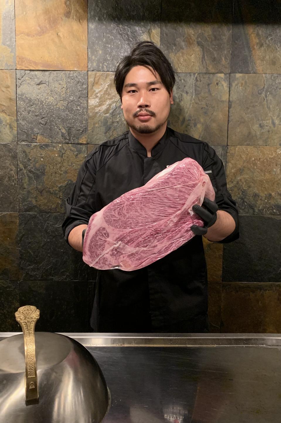Jun Sakai, director of business and meat master at J-Spec