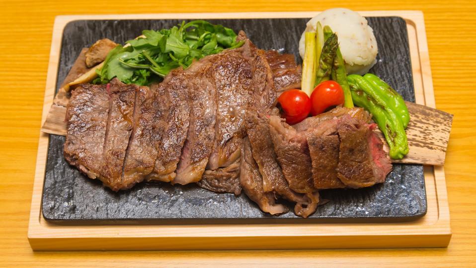 j-spec wagyu steak