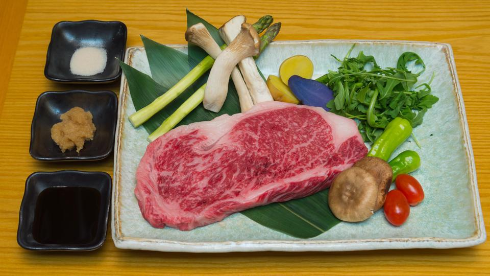 The wagyu BBQ set from J-Spec