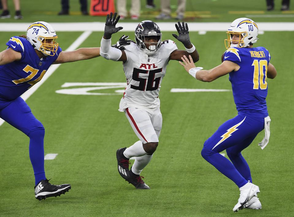 Falcons Chargers Football