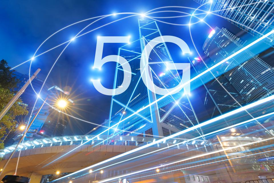 5G mobile phone network security connection internet communication