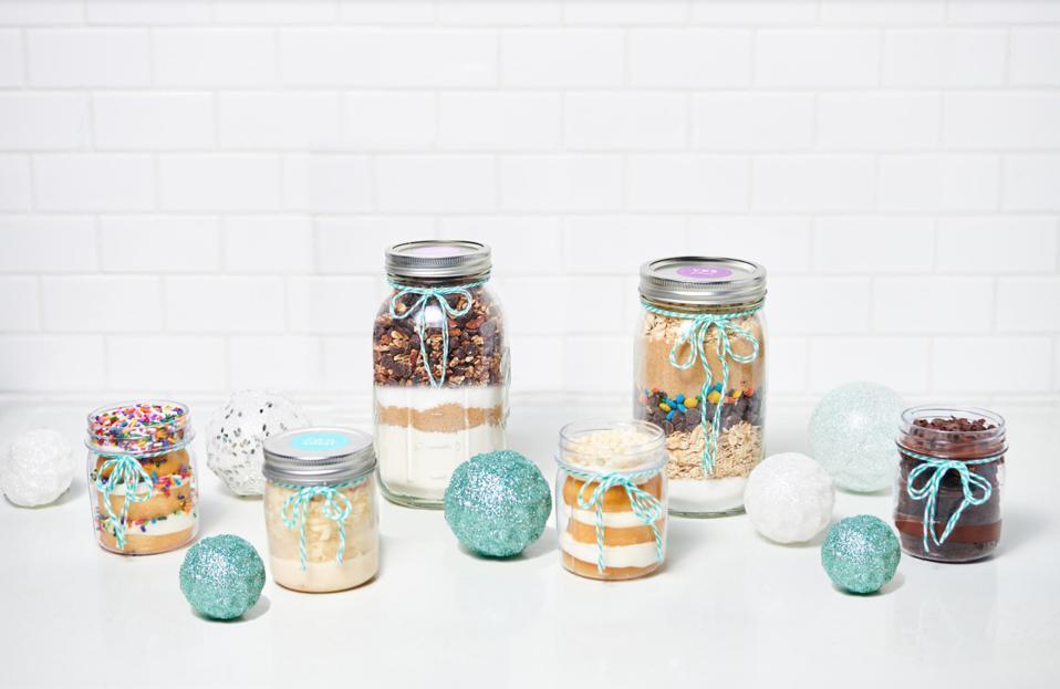 Dessert Gallery Holidays in a Jar