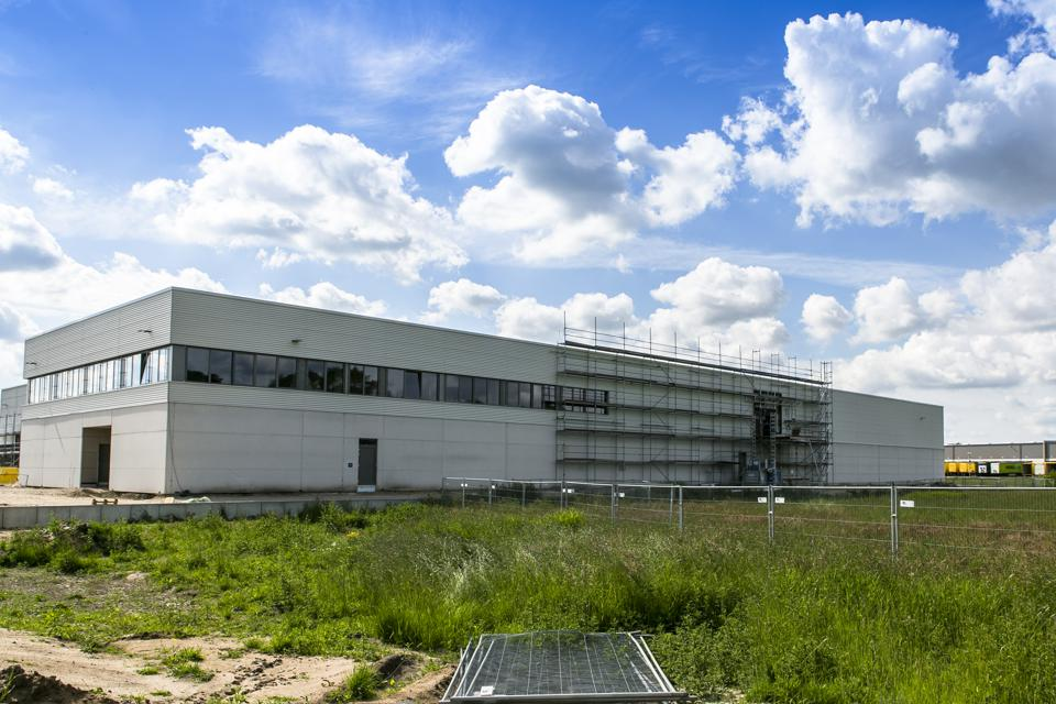 Cannabis production plant in Neumünster