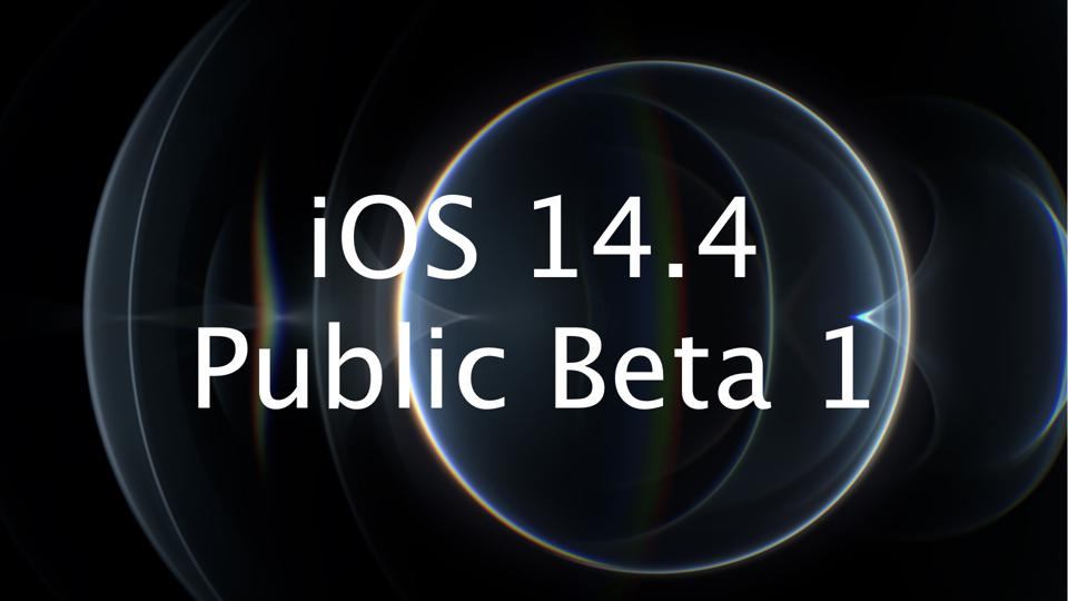 iOS 14.4 Public Beta 1