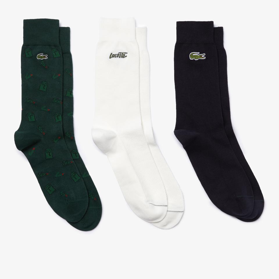 Lacoste 3-pack sock gift set