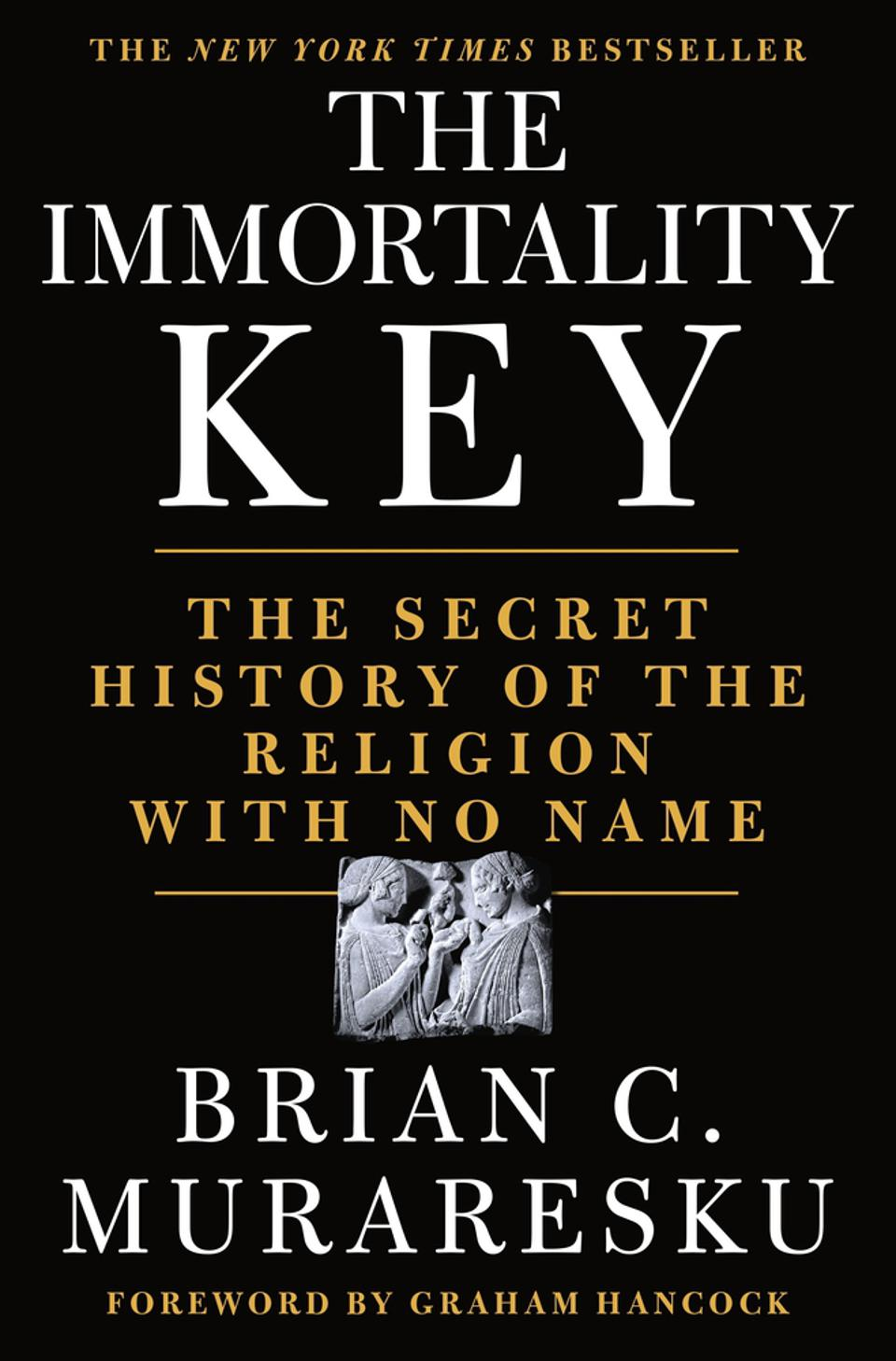 Book cover, the Immortality Key