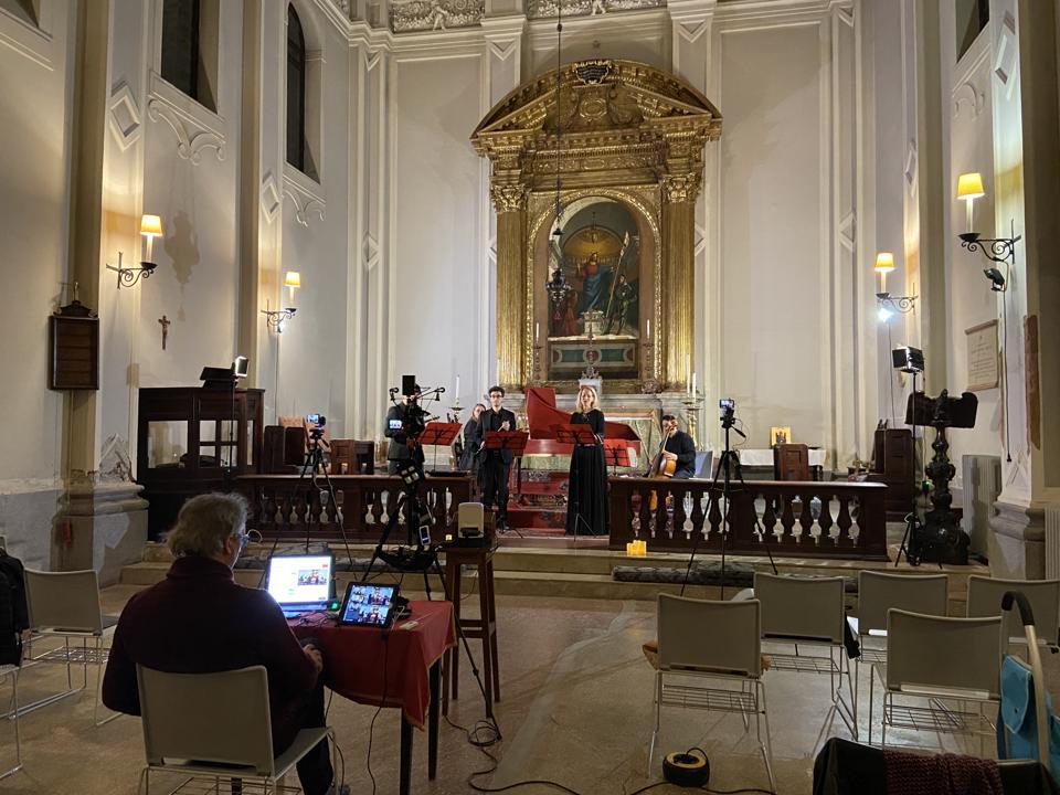 Venice music project online concert coronavirus