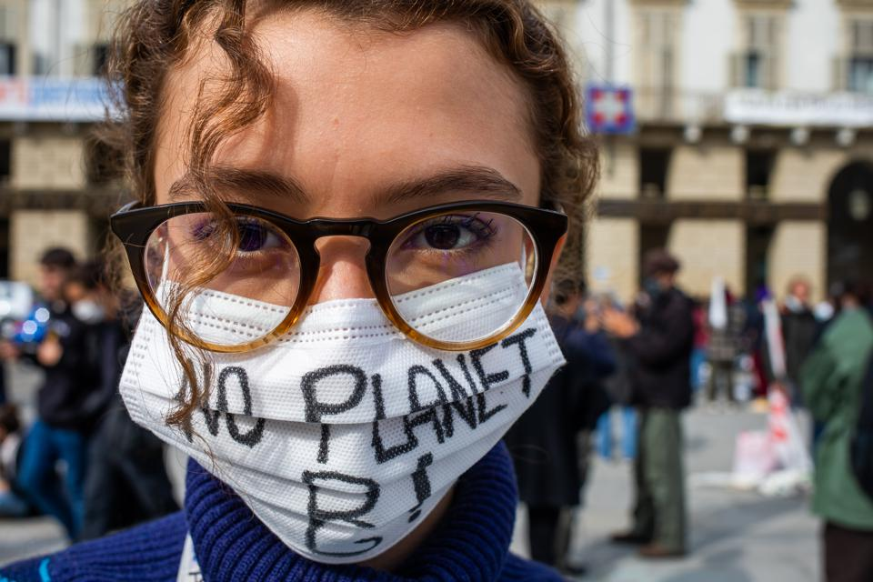 Climate Strike - ''Fridays For Future'' Protest In Turin