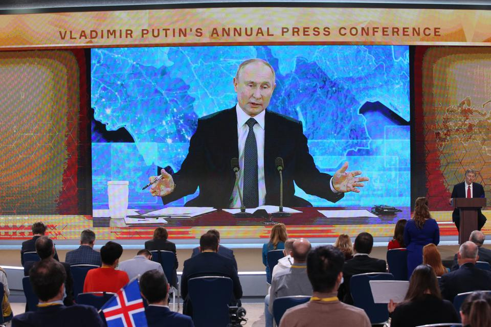 Russian President Vladimir Putin's Annual Press Conference