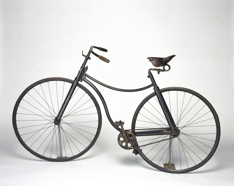 Rover safety bicycle, 1885.