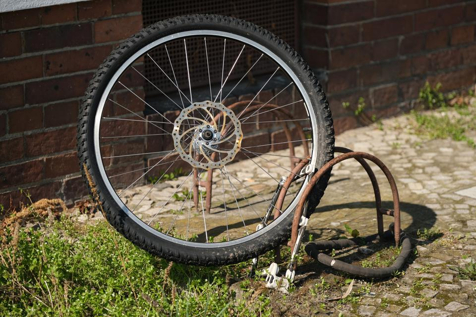 Stolen Bicycle Remains