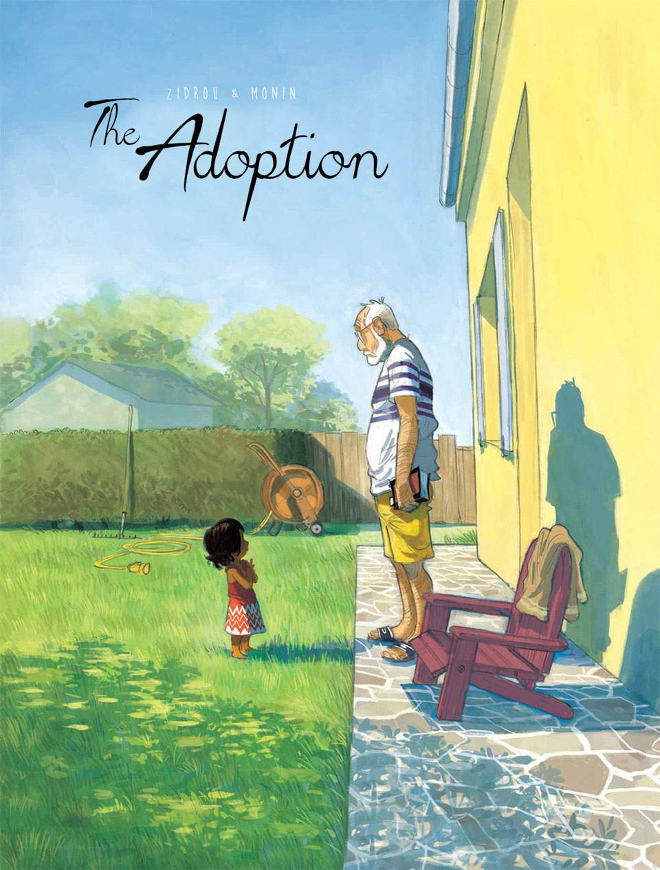 Cover of The Adoption by Zidron and Monin, Magnetic Press, graphic novel comic
