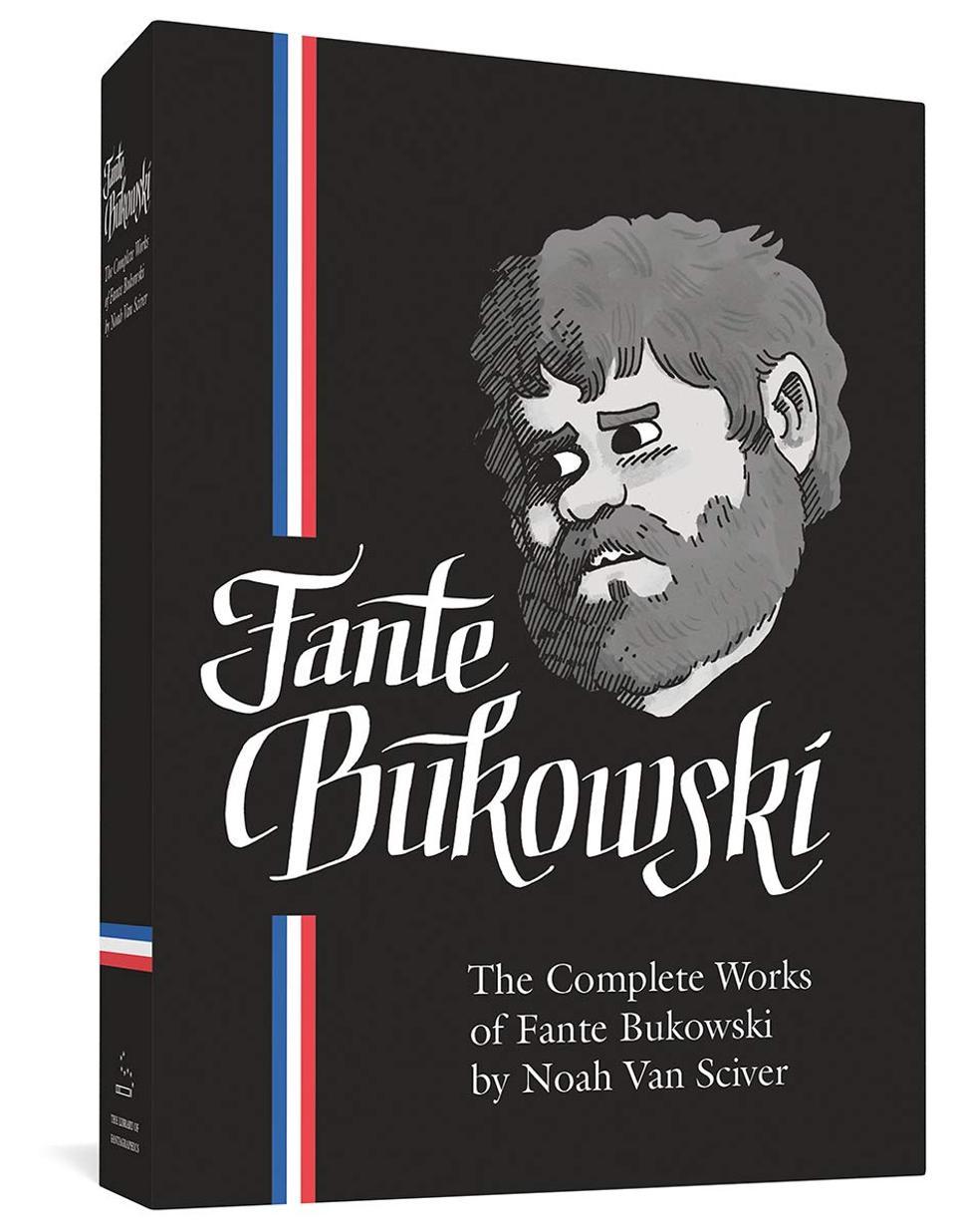 Fanta Bukowski Noah Van Sciver Fantagraphics 2020 humorous graphic novel
