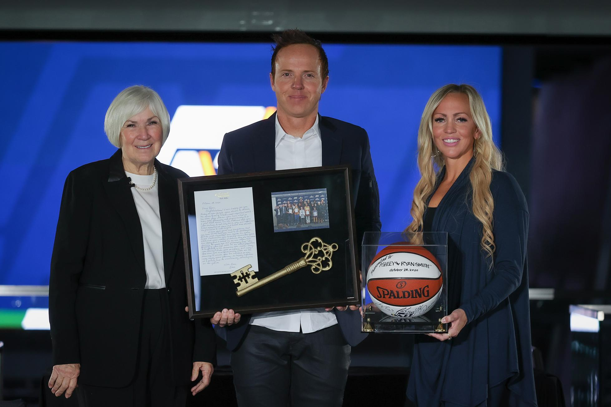 Ryan Smith and wife Ashley purchase Utah Jazz from Gail Miller