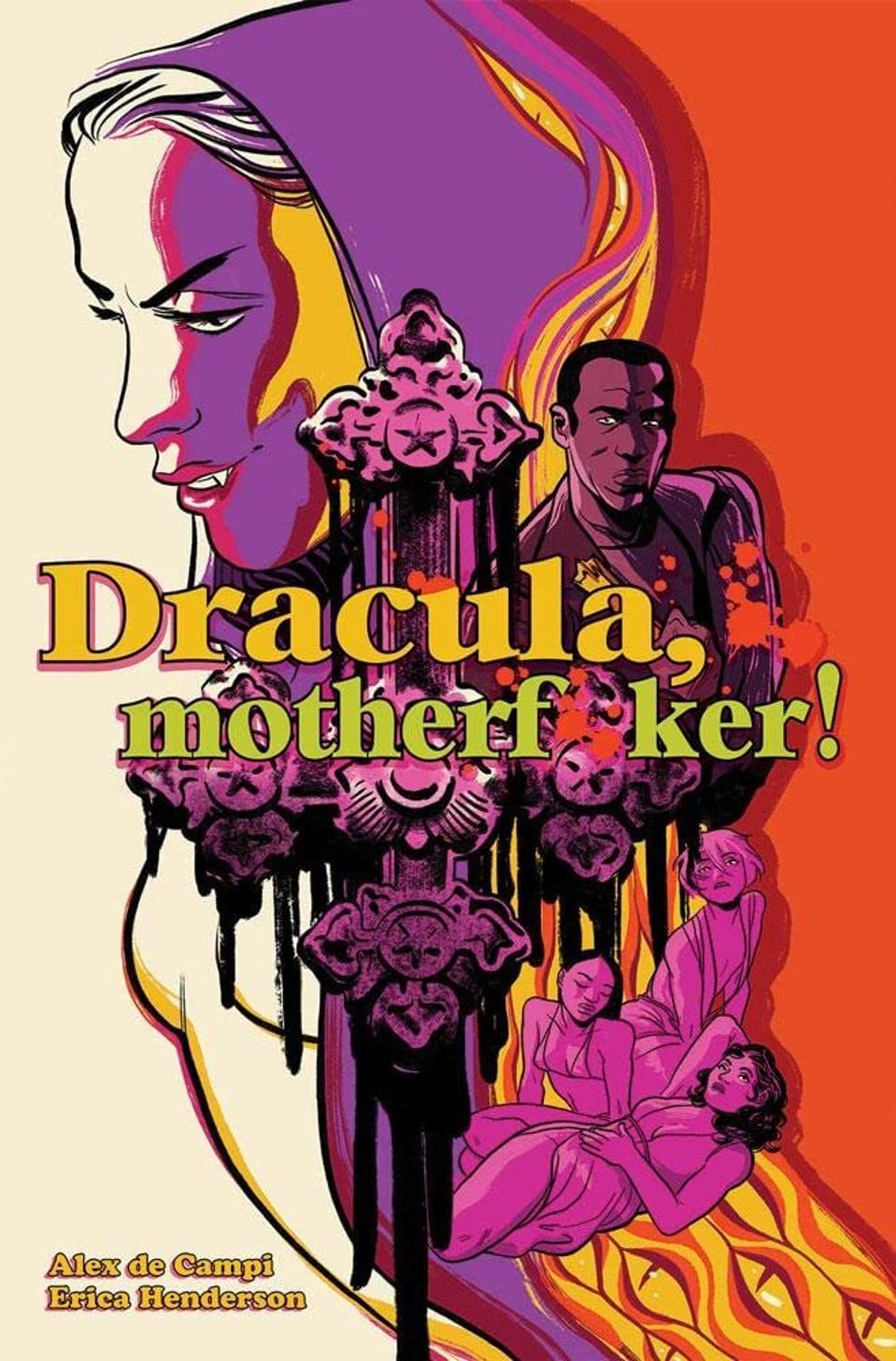 Dracula Motherf*ker de Campi Henderson Image comics horror graphic novel 1970s