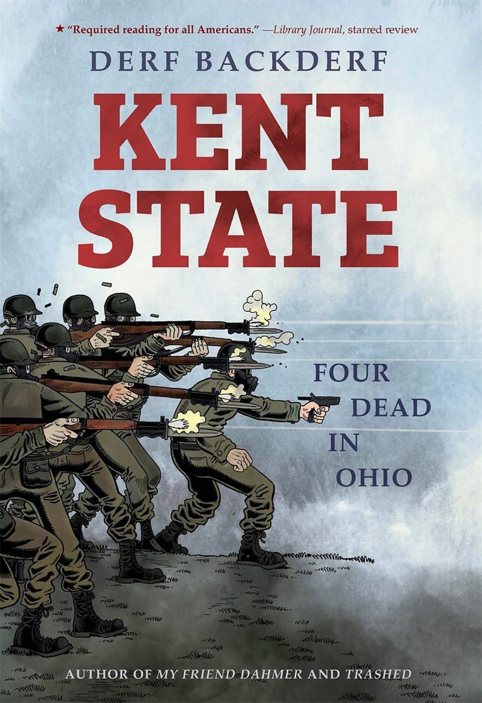 Cover to Kent State historical graphic novel Derf Backderf 2020