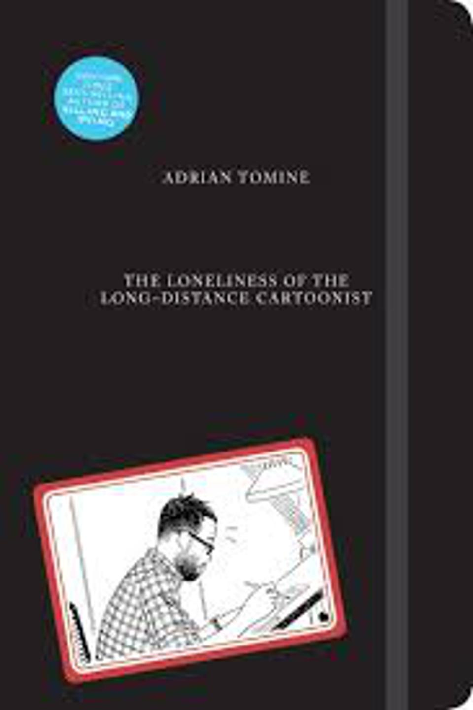 Cover to Adrian Tomine graphic novel Loneliness of the Long Distance Cartoonist