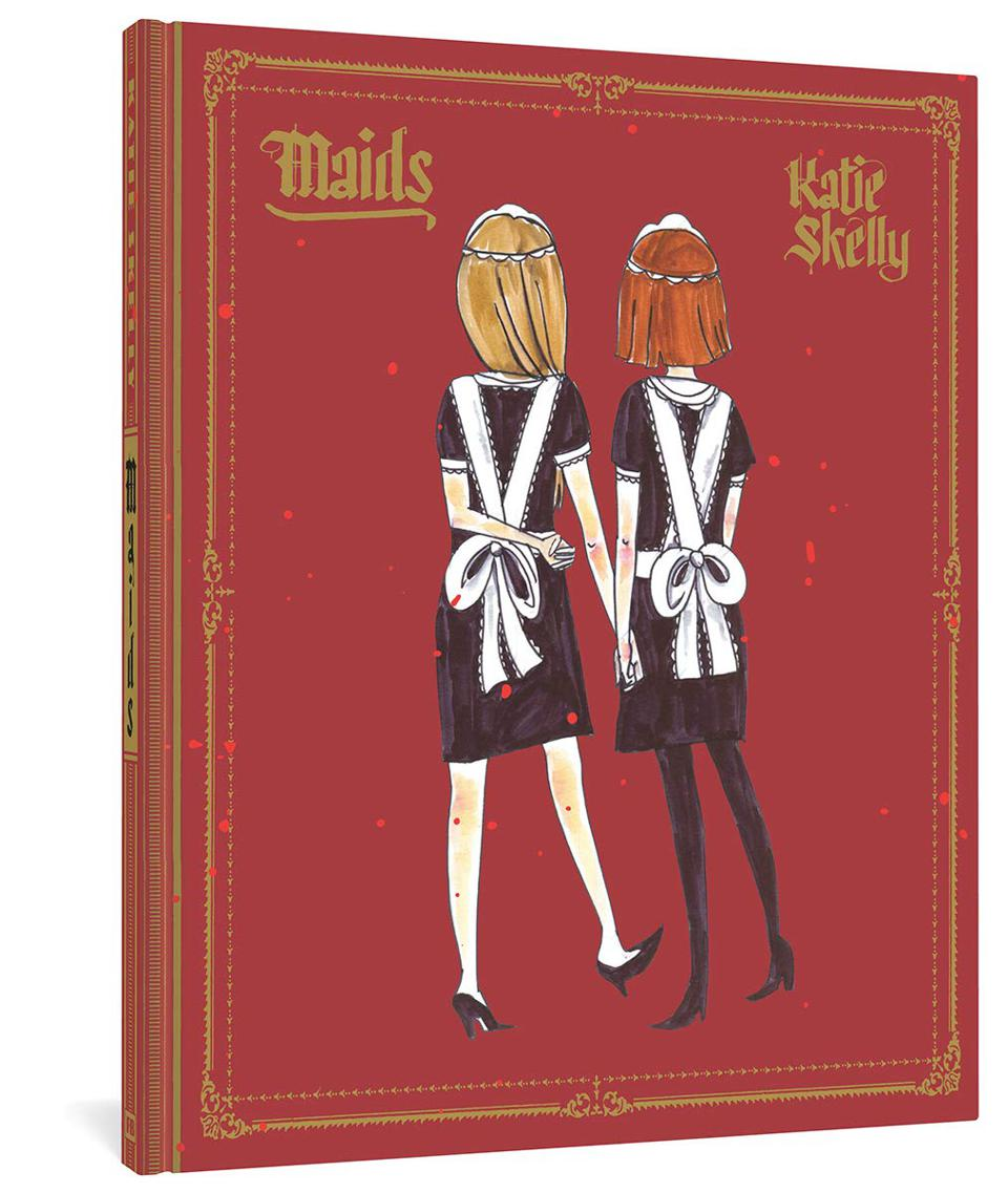 Cover to Maids by Katie Skelly true crime graphic novel